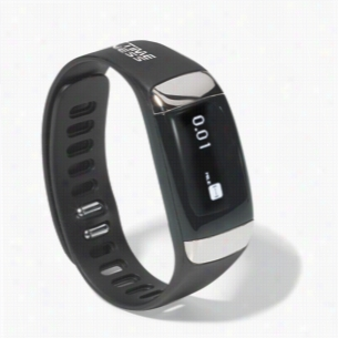 Active Health Tracker with Heart Rate Monitor - Black
