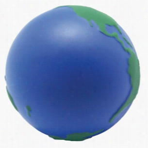 Custom Earth Ball Squeezies Stress Ball