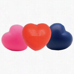 Custom Heart Squeezies Stress Ball
