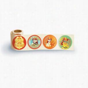 Fun Sticker Roll - Junior Fire Chief