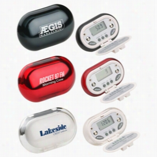Gemstone Energy-Saving Bmi & Body Fat Pedometer