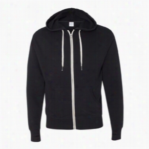 Independent Trading Co. Unisex French Terry Heathered Full-Zip Hoody