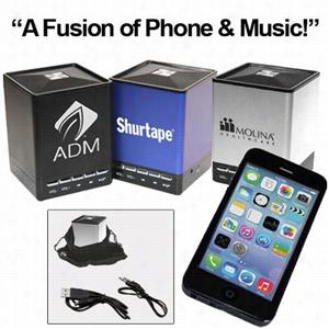 """PHUSIC"""" Bluetooth Mini Speaker with Speakerphone Function"""