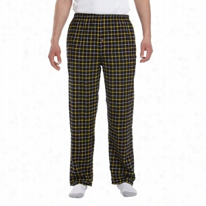 Robinson Apparel Unisex Button-Fly Flannel Pant