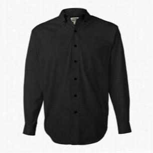 Sierra Pacific Long Sleeve Cotton Twill Shirt Tall Sizes