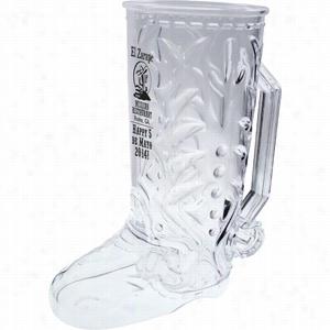 20 oz Cowboy Boot Mug
