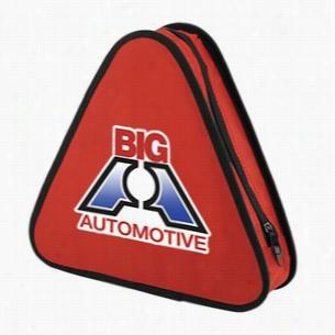 Red Roadside Emergency Kit