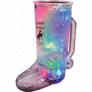 20 oz 3-Light Cowboy Boot Mug