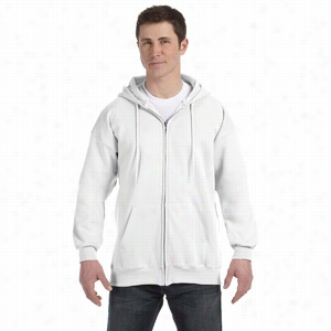 Hanes 10 oz Ultimate Cotton 90/10 Full-Zip Hood