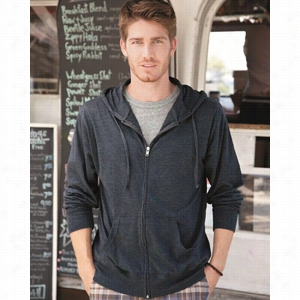 Independent Trading Co. Lightweight Jersey Hooded Full-Zip
