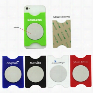 Smartphone Wallet Mirror