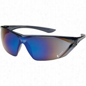 Bouton Bullseye Blue Mirror Glasses