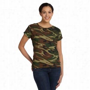 Code V Fine Jersey Camouflage T-Shirt