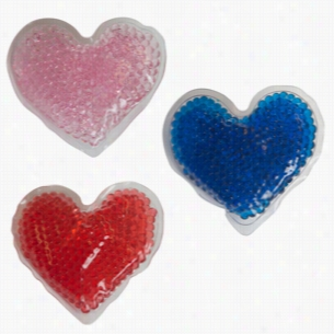 Gel Beads Hot Cold Pack Hearts