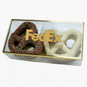 Golden Favorites Box with Pretzels