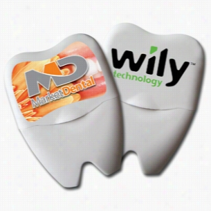 Large Tooth Shaped Dental Floss
