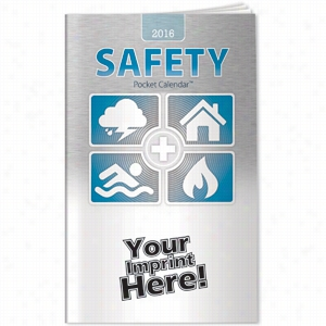 Pocket Calendars - 2016 Safety