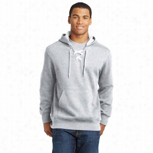 Sport-Tek Lace Up Pullover Hooded Sweatshirt