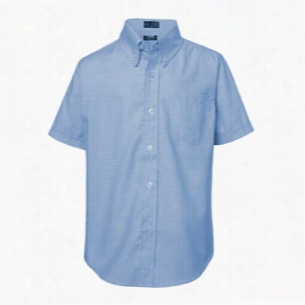 French Toast Boy's Short Sleeve Oxford Shirt
