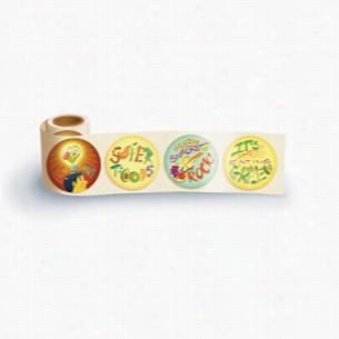 Fun Sticker Roll - Eating Smart