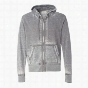 J. America - Vintage Zen Fleece Full-Zip Hooded Sweatshirt