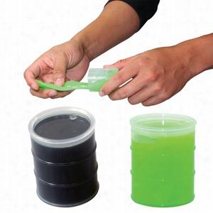 Oil Barrel Anti-Stress Putty - Black or Neon Green