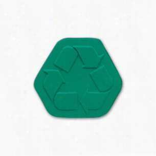 Pencil Top Stock Eraser- Recycle Symbol