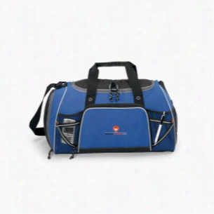 Verve Multifunction Polyester Sport Bag Royal Blue