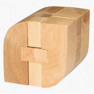 Wooden Rhombus Puzzle