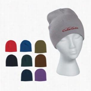 100% Acrylic Knit Beanie Cap