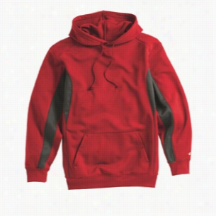 Badger Drive Polyester Fleece Hooded Pullover
