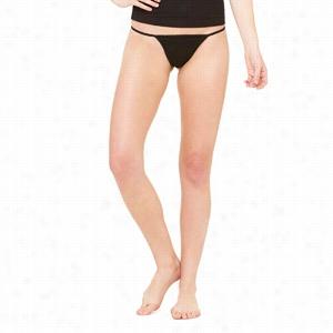Bella Cotton Spandex Bikini Thong