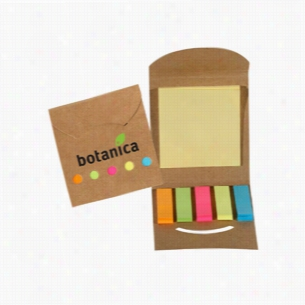Flag Tag Square - Eco Aware Sticky Note & Flag Book