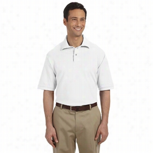 Jerzees 6.5 oz Cotton Pique Polo