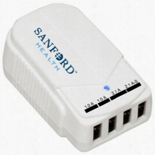 4 Port High Output Usb Travel Charger