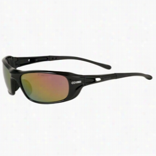 Bolle Shadow Red Mirror Glasses
