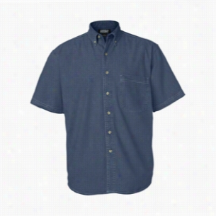 Sierra Pacific Short Sleeve Denim Shirt Tall Sizes