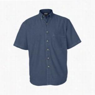 Sierra Pacific Short Sleeve Denim Shirt Tall Sizes