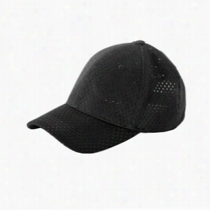 Big Accessories 6-Panel Structured Mesh Baseball Cap