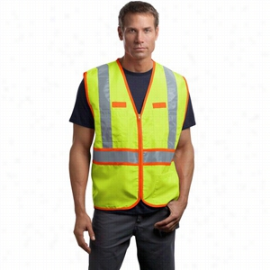 CornerStone ANSI Class 2 Dual-Color Safety Vest