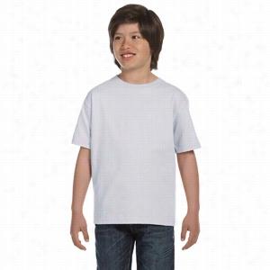Hanes Youth 5.2 oz ComfortSoft Cotton T-Shirt