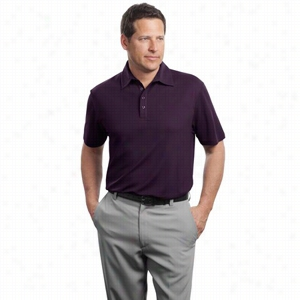 Red House Contrast Stitch Performance Pique Polo