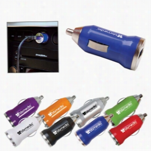 Usb Car Charger In Multiple Color Choices
