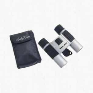 10x25 High-Tech Compact Binoculars & Nylon Case