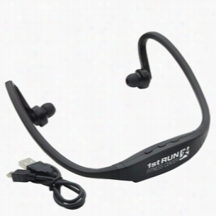 Active Wear Bluetooth Headphones Black