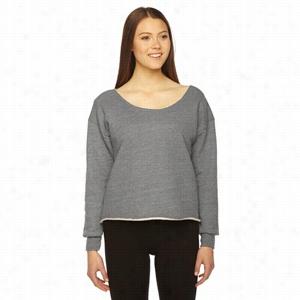 American Apparel Ladies' Athletic Crop Sweatshirt