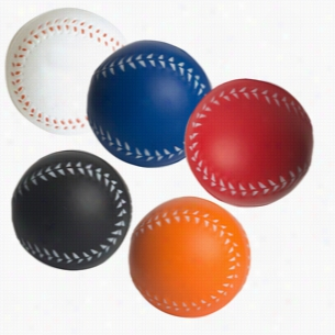Custom Baseball Squeezies Stress Ball