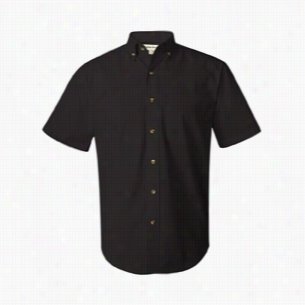FeatherLite Short Sleeve Twill Shirt Tall Sizes