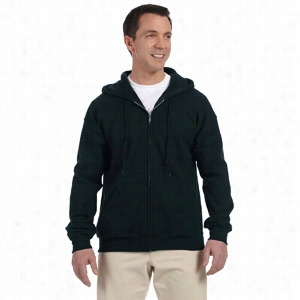 Gildan 9.3 oz DryBlend 50/50 Full-Zip Hood