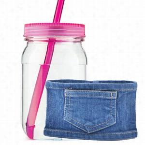 Mason Jar In Jeans